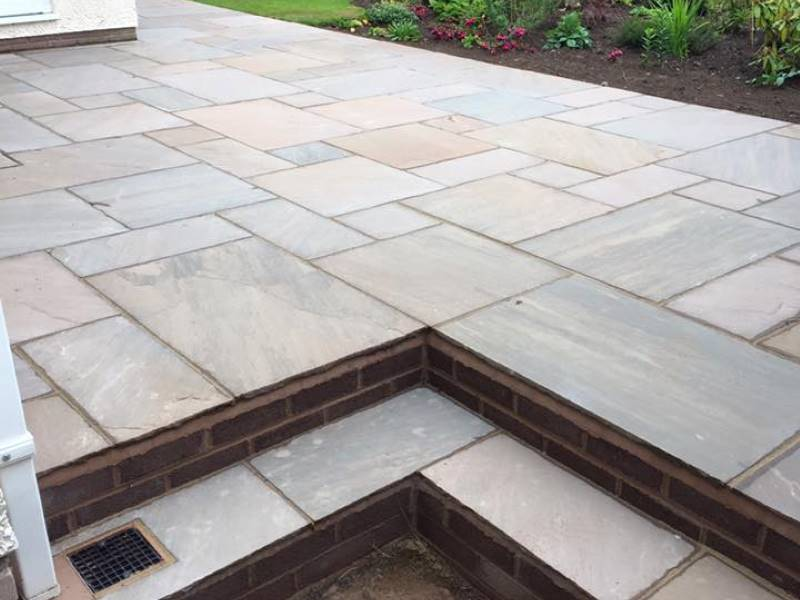 Garden Paving Installer in Carlisle, Cumbria & Scotland
